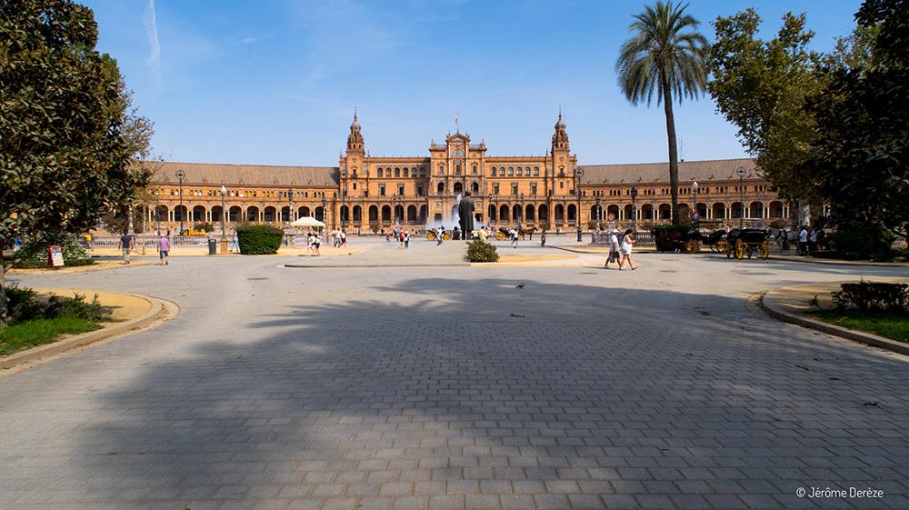 Lieux à visiter à Séville - Place de l'Espagne