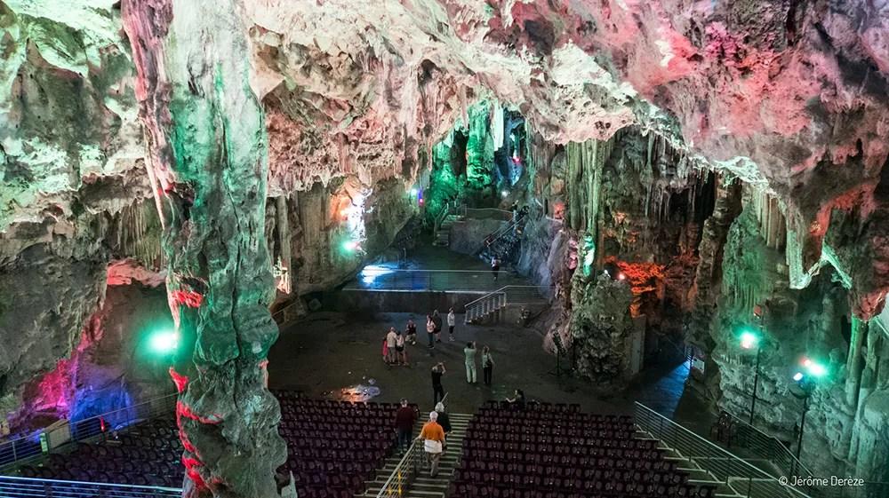 Visiter Gibraltar - Grotte Saint Michael