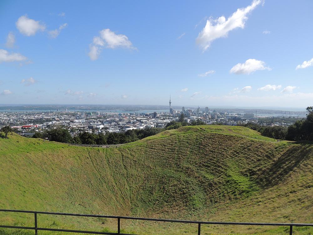 PVT Nouvelle-Zélande - Auckland Mont Eden
