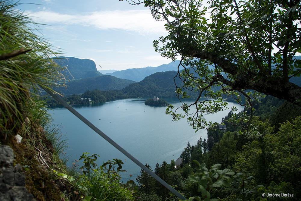 Voyager à Bled en Slovénie