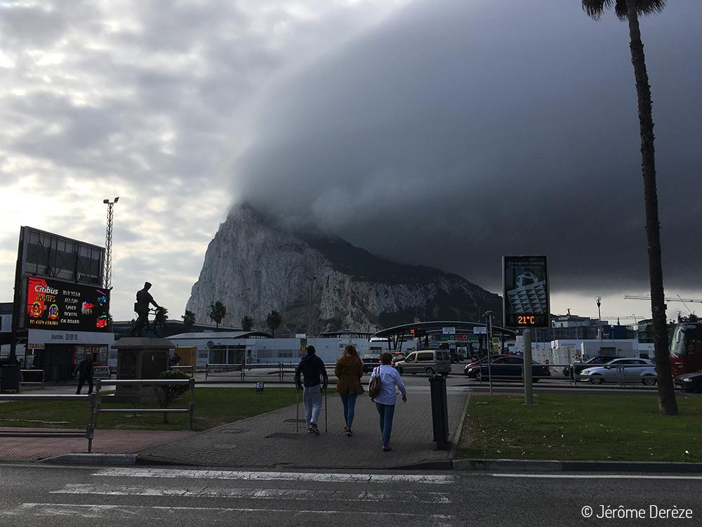 Voyager en solo en Espagne - Quitter Gibraltar