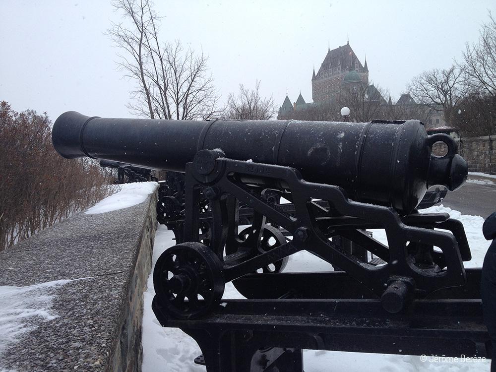 Visiter Québec - Les fortifications