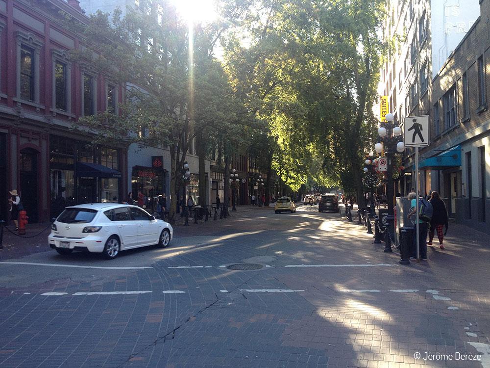 Voyager à Vancouver - Gastown