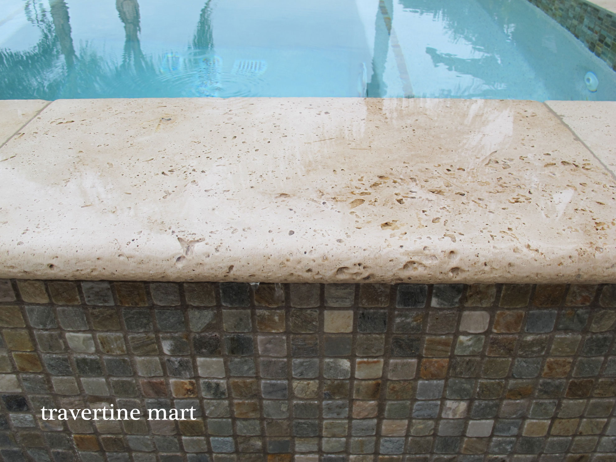 Travertine Pavers and Salt Water Erosion