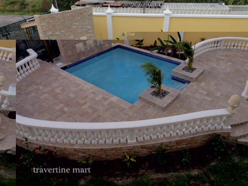 Can travertine be used outside Travertine