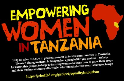 Equality in tourism launches crowdfunding campaign to support Tanzanian women farmers