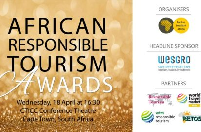 2018 African Responsible Tourism Awards finalists announced