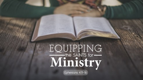 Equipping the Saints Screen