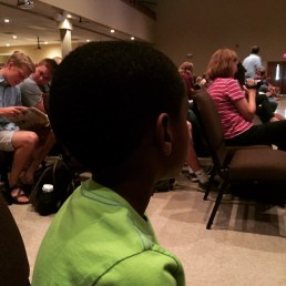 The best amen corner a guy could ask for. Prayers appreciated as we minister at Southside Christian School this morning.