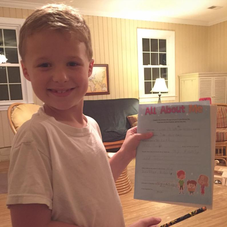 Jesus converted my son during family devotion tonight. I love both of them so much. Overwhelmed by grace.