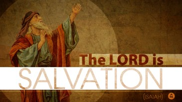 the Lord is Salvation Screen 2