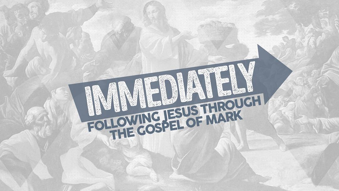 Excited to preach tonight for our students as we start trekking through Mark!