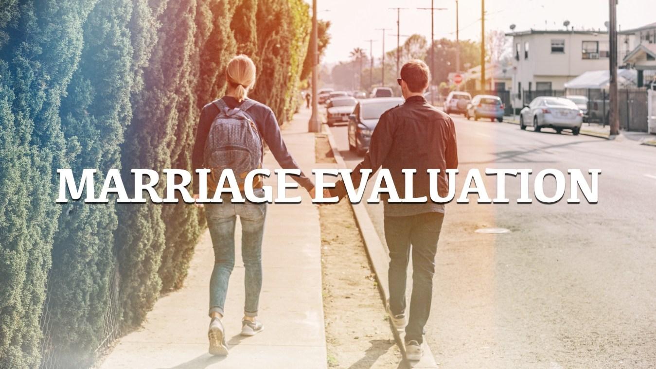 marriage-evaluation