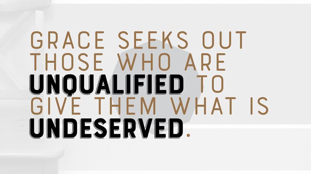 If I deserve it, it's not grace. #csufuge17 #convergence17