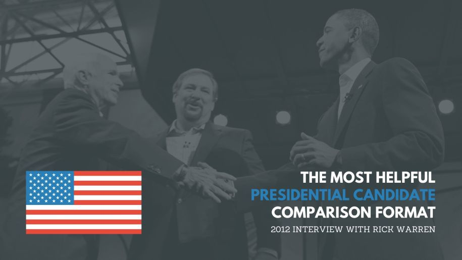 The Most Helpful Presidential Candidate Comparison Format