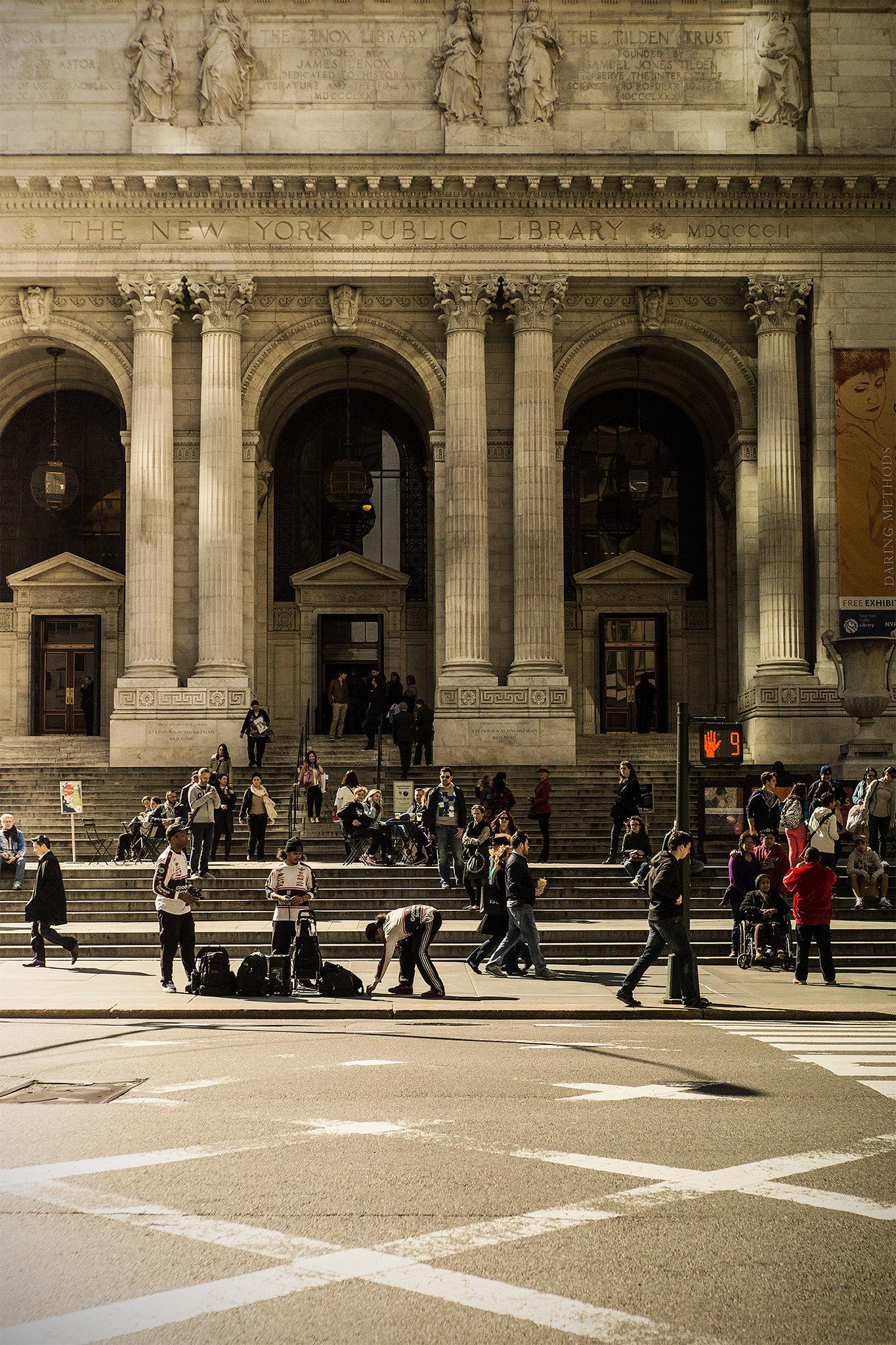 New York Public Library, new york city