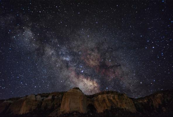 La Ventana Arch Milky Way
