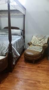Sitting Area in Queen Bedroom in the Two Bedroom Loft