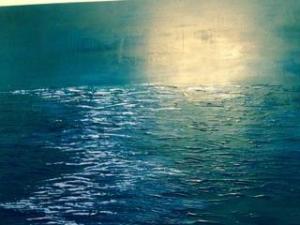 Sarah Tinsley Parker X Acrylic on Canvas 36x48