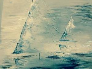 Sarah Tinsley Parker Sailaway Acrylic on Canvas 24x24