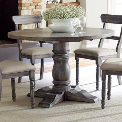 Kitchen Tables Round Sheers 5 Tips Great Resources Travis Neighbor Ward Table By Progressive Furniture Muses 48 In Gray Oak