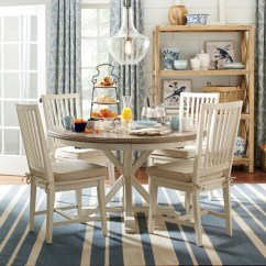 Kitchen Tables Round Window Treatment Ideas For 5 Tips Great Resources Travis Neighbor Ward Teresa Extending Dining Table 54 Inch