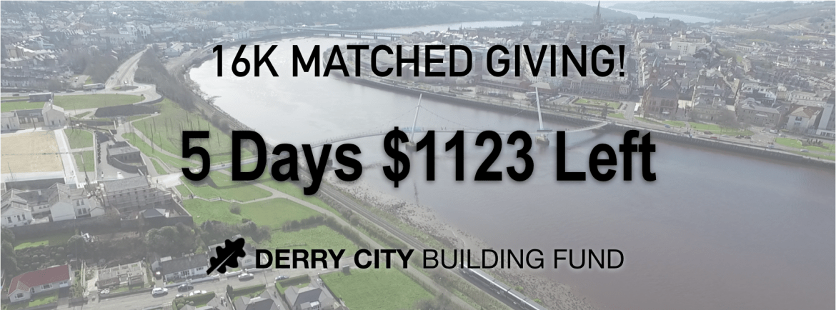 Ministry Update – Only $1123 Needed to Complete the 16K Match!