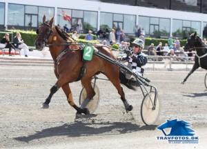 Runaway med Axel Jacobsen løb væk fra konkurrenterne og vandt sikkert.
