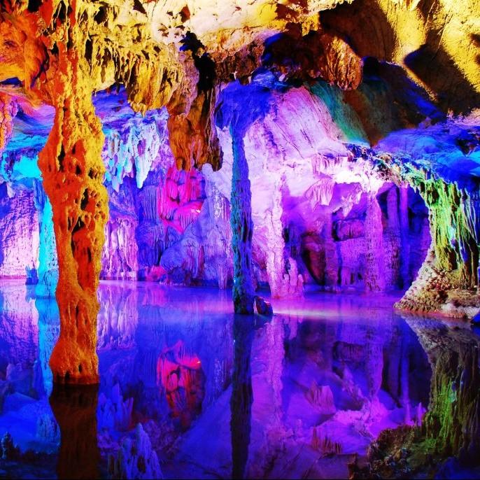 Resultado de imagen de Reed Flute Cave images