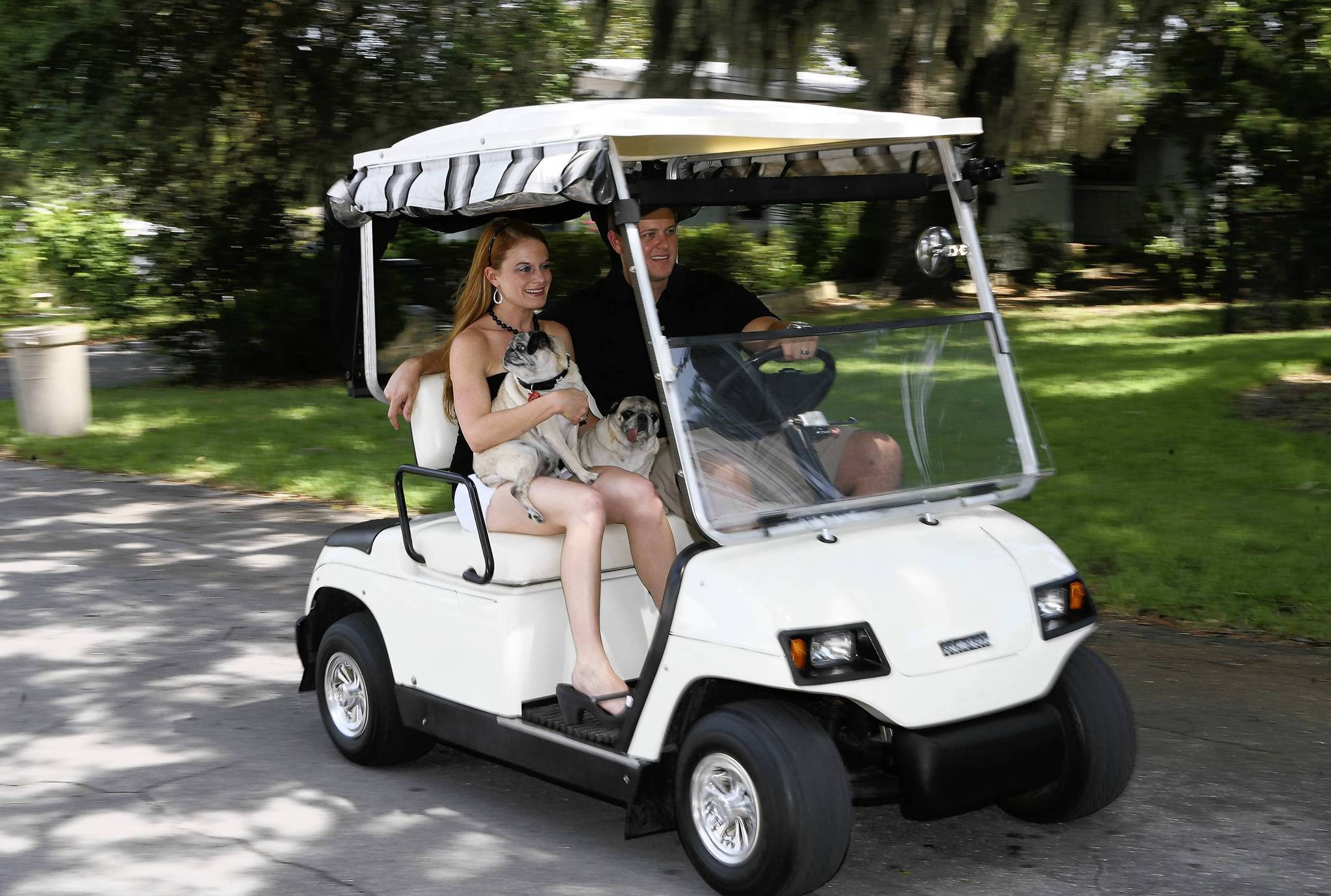 golf cart insurance sony deck wiring diagram howey residents now can zip around town on carts