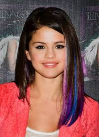 Purple, blue, pink  why not? Vibrant hair color breaks ...