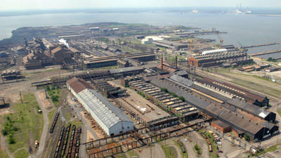 Sparrows Points steel mill to be razed Kamenetz says