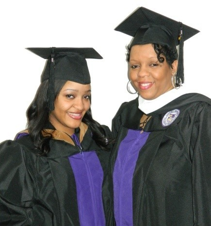 Mom and Daughter Gear Up to Graduate Together from Ashford
