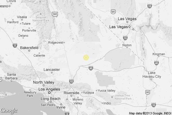 Earthquake 33 quake rattles Mojave Desert latimes