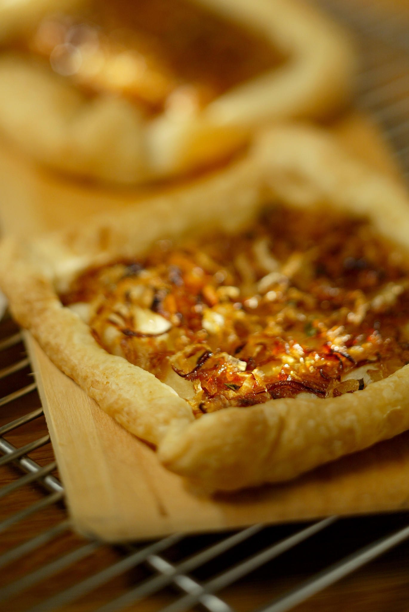 Recipe Savory onion tart  California Cookbook