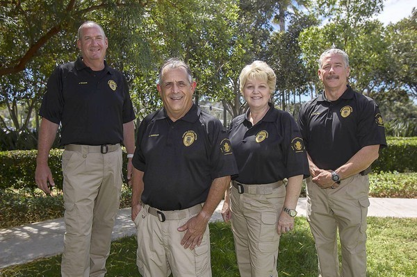 Exofficers form campus security unit  LA Times