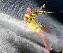 Barefoot Water Skiing