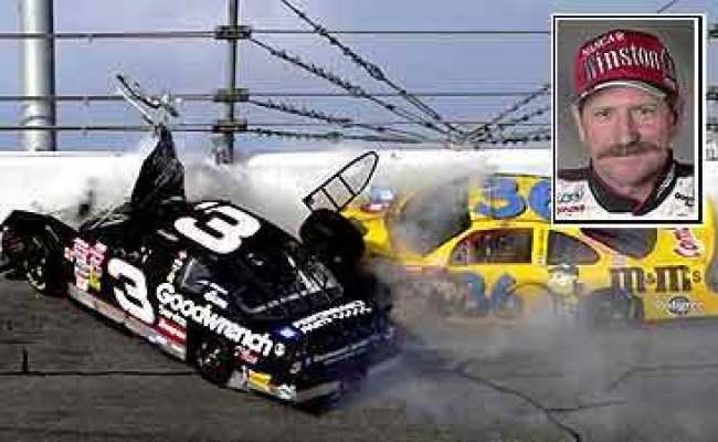 Dale Earnhardt Sr Dale Earnhardt Killed In Last Lap