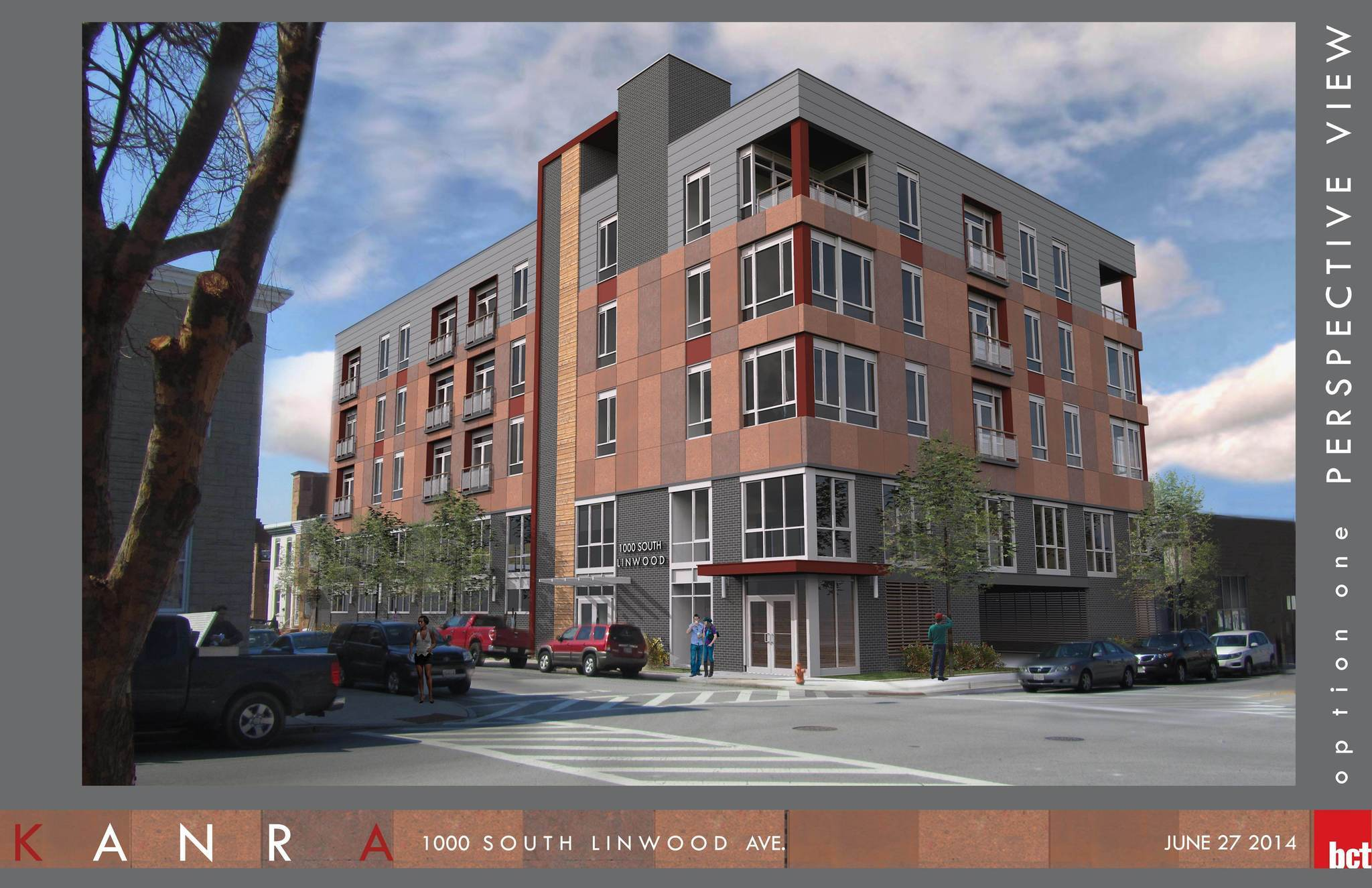 Fivestory apartment office building proposed near Canton