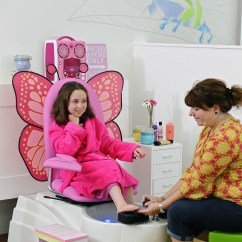 Child Pedicure Chair Ikea Accent Covers Kids Spas In Baltimore For Young And Pampered Youths