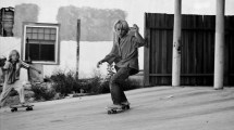 Young Jay Adams Skateboarding