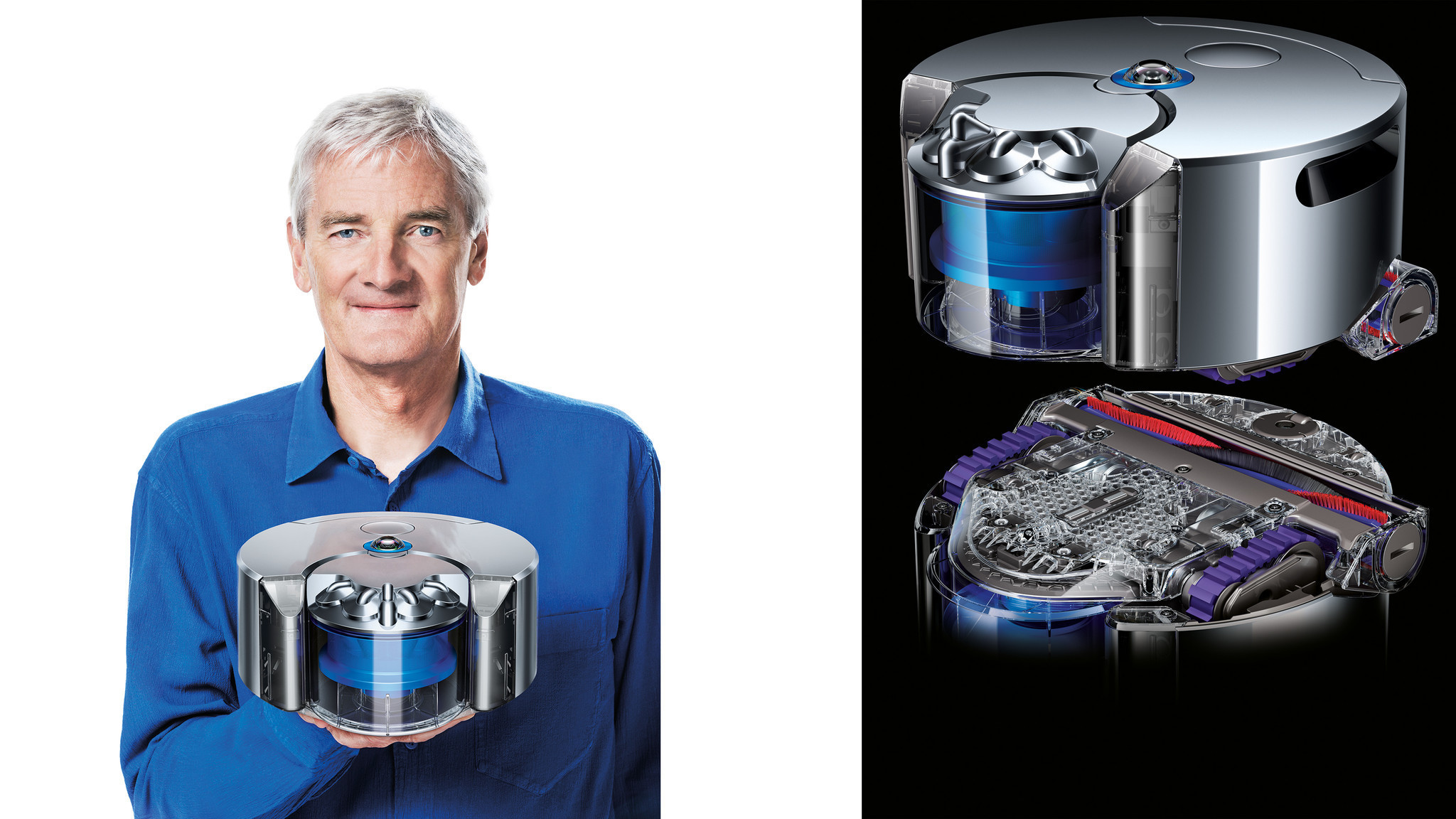 Dyson unveils 360 Eye a robot vacuum cleaner  Chicago
