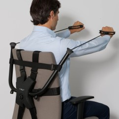 Chair Stand Exercise Hostess Dining Chairs Burn Calories As You Work Without Buying An Expensive