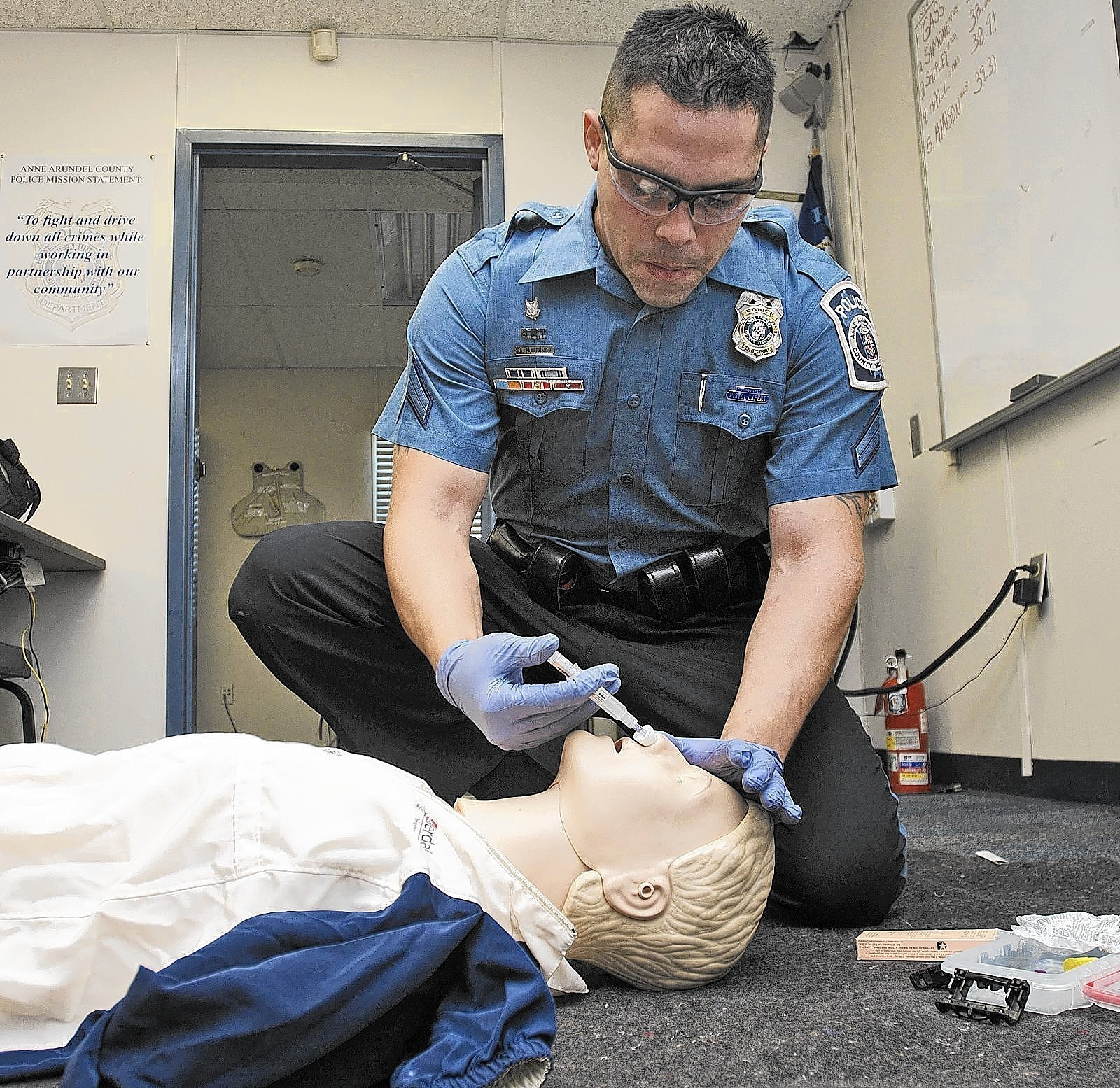 Police Narcan training Pictures  Capital Gazette