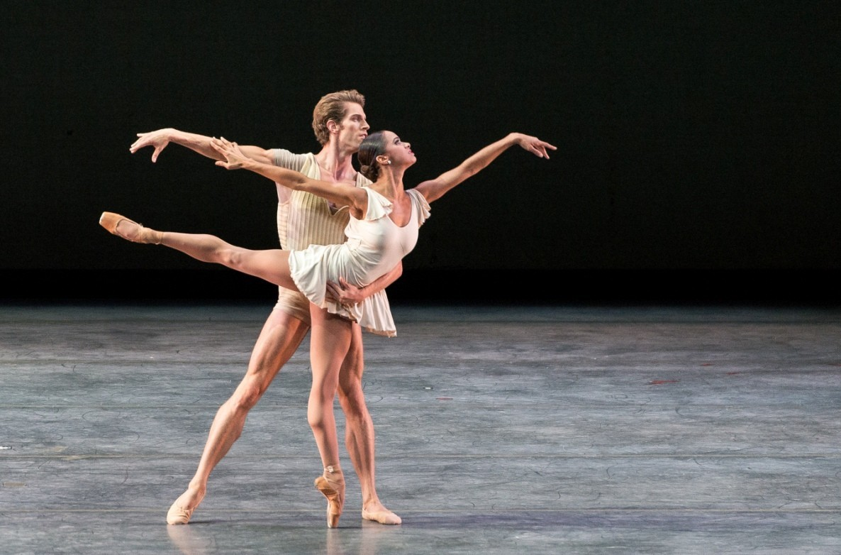 AfricanAmerican dancer Misty Copeland as soloist for