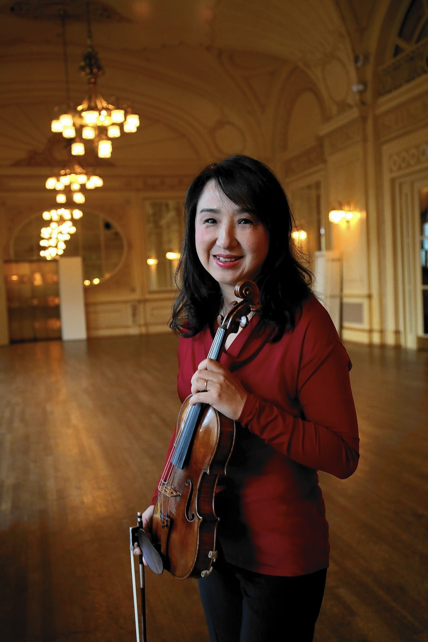 Interview with CSO violinist YuanQing Yu  Chicago Tribune