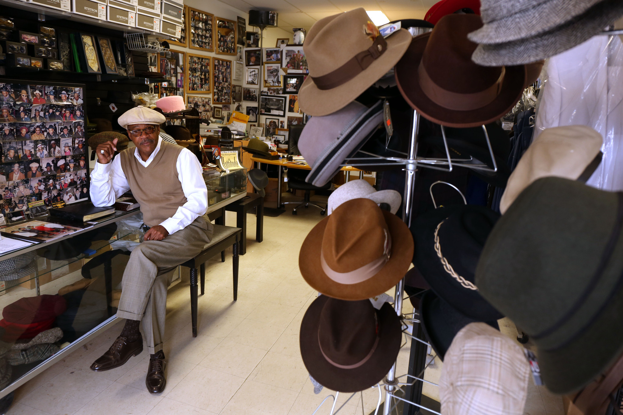 South Side hat shop a throwback gem  Chicago Tribune
