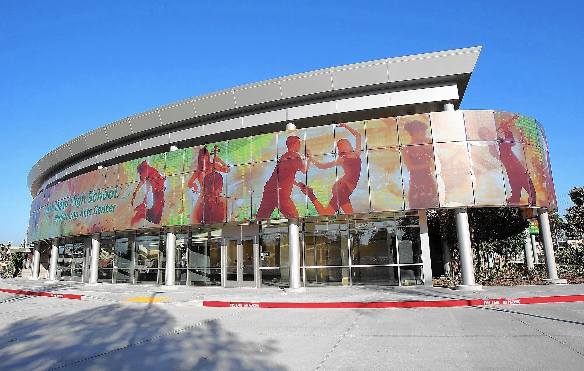 Costa Mesa Highs show goes on with a new theater  LA Times