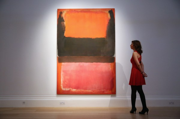 Mark Rothko Painting Sells 45 Million Sotheby'