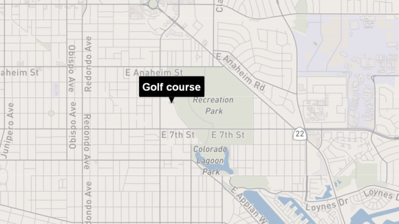 Man on golf course hit by Taser after urging police to